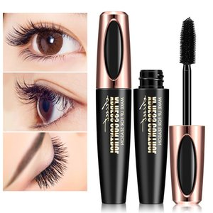 Waterproof 4D Silk Fiber Mascara Extension Long Curling Makeup Eye Lashes Sex Long-lasting Eyelash Brush