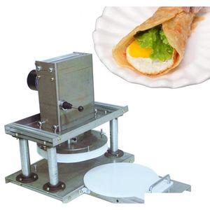 CHAOHUOLB-21 Commercial Edelstahl Electric Tortilla Pressemaschine Tortilla Machine Commercial Pizzateig Drücken von BSPCF