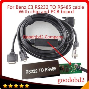 For Mb Star C3 Multiplexer OBD2 Cable Connector 232 to 485 Cable Car Diagnostic Tools Cables Connect MB STAR C3 to computer1
