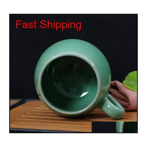 Chinese Porcelain Tea Cup With Lid And Infuser Strainer Teacup Celadon Teapot Mug Gift Drinkware Trav qylLgU yh_pack