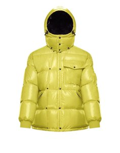 Designer di marca francese Designer leggero piumino con la stella classica con la stessa giacca down femminile di Giacca corta giù Giacca sottile addensata