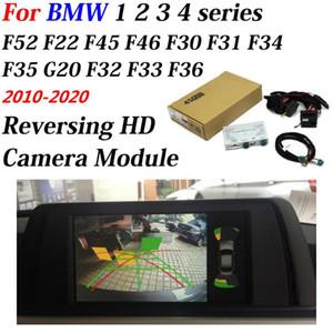 Traseira do carro câmera de segurança para 1 2 3 4 Series F20 F22 F30 F45 2010-2020 HD reverso Estacionamento CAM Tela Original Atualização Decoder