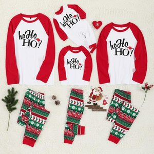 Pajamas Set Christmas Clothes Parent-child Suit Home Sleepwear New Baby Kid Dad Mom Matching Family Outfits