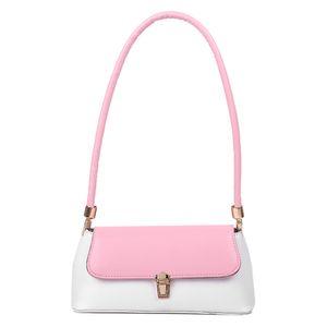 HBP Donne Casual Borsa in pelle Casual Classico Texture Creativo Delicato Design Design Ladies Hit Color Piccoli borse da viaggio Borsa a tracolla rosa