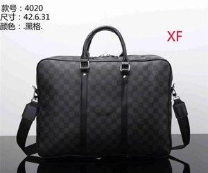 HOT Mens Bolsas Pastas Simples Homens de Negócios Briefcase Bag Laptop CouroLVLouisVuittonBolsas Homem Casual Shoulder Bags