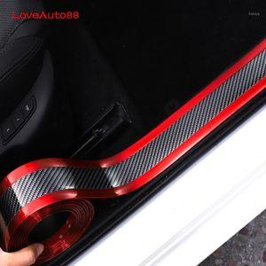 Автомобильная дверь подоконник потрясающие пластины Grandward дверные подоконники протектор стикер наклейки углеродного волокна аксессуары для Kia Seltos 2019 20201