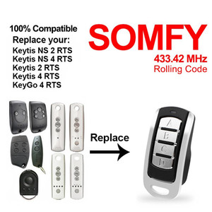 Cloning Remote Control Electric Copy Controller SMFY Keytis NS 2 RTS Wireless Transmitter Switch 4 buttons Key duplicator