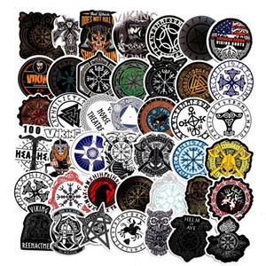 50pcs Lot Viking Scrapbooking Stickers Decal For for Guitar Laptop Luggage Car Fridge Graffiti Sticker