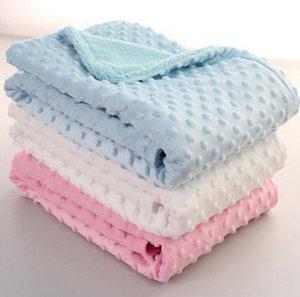 Baby Peas 100 * 70см постельное белье набор Софа Одеяло Детские мягкие Одеяла из пены бросают коврики Спальный мешок DA334