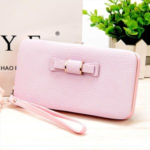 10 colors Purse wallet female brand cellphone pocket gifts for women money bag clutch 888