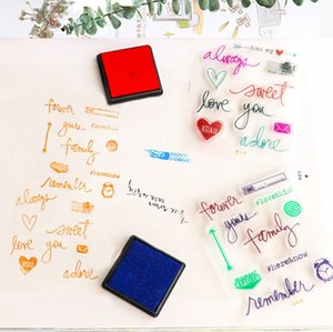 2017 ,The Latest Transparent Soft Silicone Decorative Seal ,Lovely Graffiti ,A Variety Of Fun ,Diy Album ,Diary ,Hand Account Seal