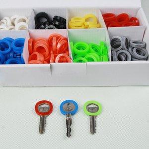 Cap Key colorido tampas de plástico Pacote de 24
