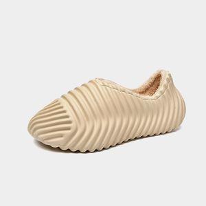 Classic Soft Indoor Non-slip slippers Foam White Bone mens slides sandals sliders platform house Summer outdoor beach slipper size 39-45