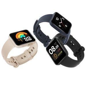 Küresel Xiaomi Mi İzle Lite GPS GLONASS Bluetooth 5 Akıllı İzle 5ATM Su Geçirmez Mi Band Spor Fitness Kalp Hızı Monitörü