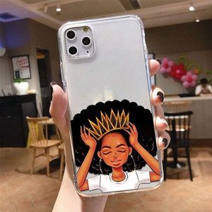2bunz Melanin Poppin Aba black girl Money Phone Case for iPhone 12 11 Pro XS MAX XR 8 7 6 6S Plus X 5 5S SE