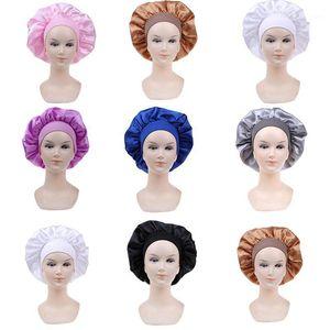 1pc Satin Sleeping Hat Night Sleep Cap Hair Care Bonnet Nightcap For Women Men Unisex Cap Bonnet1