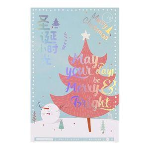 Old Fashioned Santa Stationery 30pcs Box Cute Elk Style Stationery Creative Writing Greeting Postcard New Year Gift Lomo bbyFUM sweet07