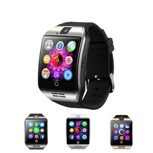 Q18 smart watch for android phones Bluetooth Smartwatch with Camera Original q18 Support Tf sim Card Slot Bluetooth NFC Connection