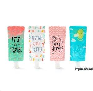 25ml 90ml travel bottle Cosmetic filling pvc bag,portable Packing bag hand sanitizer Shampoo Makeup fluid sub bottle packaging bottle