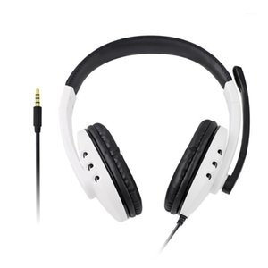 Gaming Headphone 3.5mm Wired Microphone Headset for PS4 Switch ONE 360 PC Over-Ear Earphone Gaming Headset1