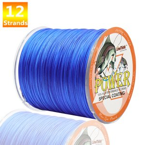 Power 12 wire braided fishing line 500m 8 color super Japanese multi wire braided wire 40lb 60LB 80LB 120lb 180lb