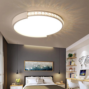 New LED Chandelier Dimming Remote Control Crystal Decoration For Living Room Bedroom Home Chandelier Ceiling Fixtures