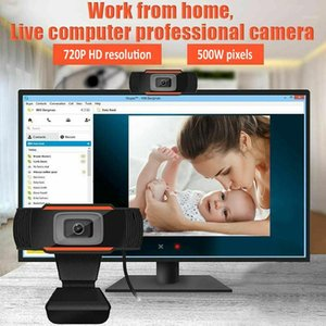 New 1pcs Professional USB 2.0 PC Camera 1080P Video Record HD Webcam Web Camera With MIC For Computer For PC Laptop Skype MSN1