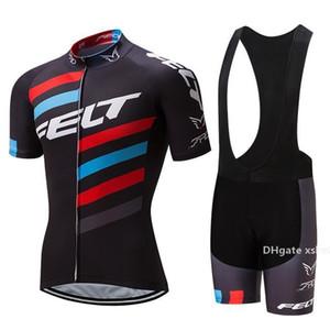 2020 Nuovo 2020 Felt Pro Cycling Jersey della bici breve Set Mtb Ropa Ciclismo Pro Cycling Wear Mens Bicicletta Maillot Culotte taglia XXXL