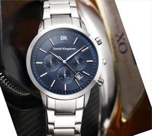 Fashion Mens Luxury Designer Watches all Dial Work Waterproof Sports Men Watch 42mm Top Quality Quartz Movement Stainless Stee Wristwatches
