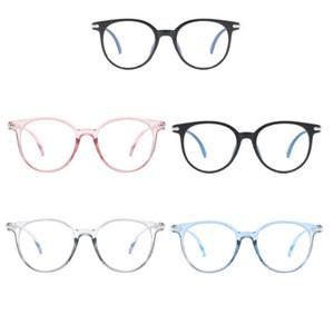 Unisex Blue Blocking Spectacles Anti Eyestrain Decorative Glasses Light Computer Radiation Protection Eyewear
