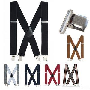 JLwEp Cross mirror clip widened 5.0cm suspender belt adult men's tooling sling Tool sling strap men's strap clip