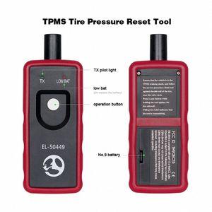 EL50449 Per Auto Tyre Pressure Monitor Sensor SR 50449 Per Tyre Pressure Monitor TPMS Reset Tool OEC T5 Reset Tool 6Iz2 #