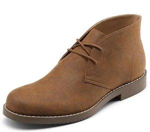 GM golaiman Herren-Stiefel Casual Wüste Schuhe J4jo #