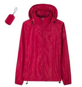 New Summer Women Long Sleeve Raincoats Jackets Coats Fashion Windproof Hoodies Ladies Coats XS-XXXL 201020