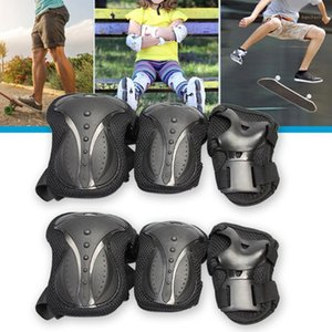 6 Pcs Adult Rollerblading Protection Gear Set Body Accessories Elbow Safety Knee Pads Wrist Guards Skating Outdoor Anti1