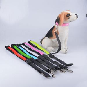 Durable Lattice Led Luminate Pet Dog Products Leashes Traction Rope