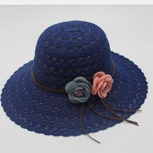 Seioum летние шляпы для женщин Мода Дизайн Женщины Кружева Бич ВС Hat Складная соломенной шляпе