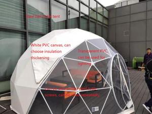 Стальные структуры палатки, чтобы увидеть звезды