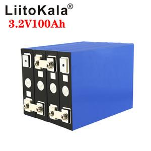 4шт LiitoKala 3.2V 100Ah аккумуляторная батарея LiFePO4 литиевая фосфа Большая емкость батареи двигателя 12V 24V 48V мотоцикла Электрический автомобиль