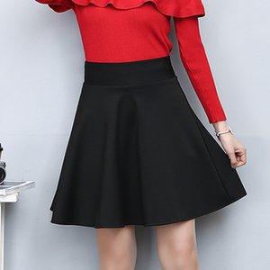 Зимний и летний стиль бренд женщины юбка эластичные Фалды дамы MIDI юбки сексуальные девушки мини короткие юбки SAIA FEMININA J0118