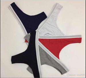 6 pecs mix moda mulheres sexy thongs confortável respirante algodão mulher designer famoso marca senhoras curta calcinha cueca alta qualidade