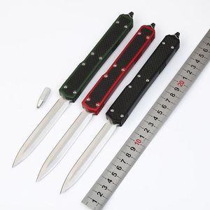 Makora II 106-1 T6-6061 D E D2 carbon fiber double action tactical autotf knife folding edc knifes pocket tool knives xmas gift