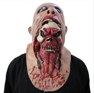 Charlie Horror Latex Halloween Leiche Maske Kannibale Tanzparty Performance Maske Requisiten heikel lustige Kopfbedeckung Halloween Spielzeug