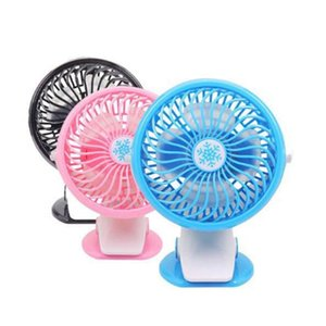 New 360 Degree Portable Travel Fan Rechargeable USB Fan Clip On Desk Pram Cot Car 3 Color For Home Office