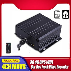 AHD 720P 1080P 4CH HDD SSD MDVR mit 4G GPS WiFi Echtzeit-Videoübertragung 3G Mobile DVR