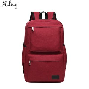 Aelicy Brand Men's & Women Retro Outdoor Oxford Travel Bag Man Backpack Polyester Bags Waterproof Bags Computer Fashion Packsack