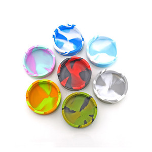 Camouflage belt luminous silicone ashtray luminous round ashtray new fluorescent ash cupS convenient cigarette case anti-drop creativity