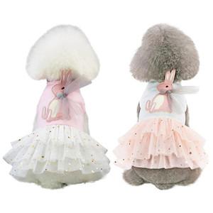 Pet Spring Summer Princess Skirt on Top Sweety Princess Dress Small & Medium Dogs Cool Dress Pet Accessories