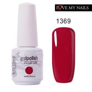 Arte Clavo 85 Colors Nail Gel Polish Rose Gold Nagellack Professional Varnish Lacquer vernis semi permanent Pink Nail Gel