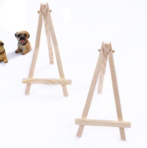 Name Easel Stand 16*9cm Decoration Card Display Party 24pcs Favor Number Miniature Mini Place Table Wedding Wedding bbyFe packing2010